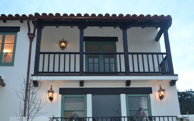 Custom Outdoor Lantern and Outdoor Sconce
