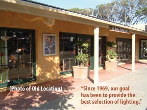 The Home Lighter's previous showroom established in 1969.