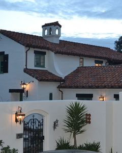 Residential custom outdoor lighting fixtures located in Carmel, CA.