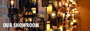 Visit our lighting showroom with many lighting fixture ideas to choose from.